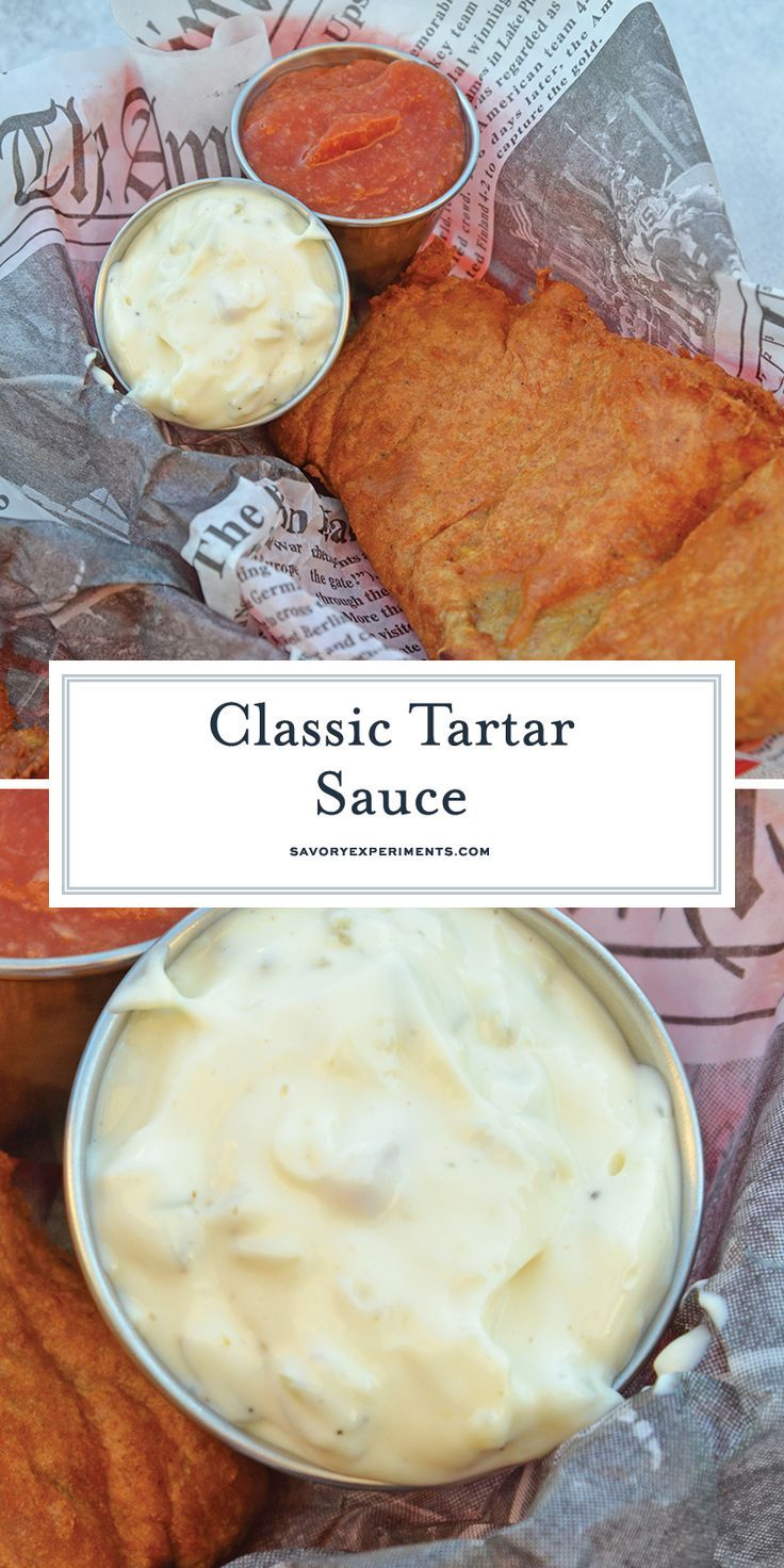 With Just 6 Main Ingredients, This Homemade Tartar Sauce