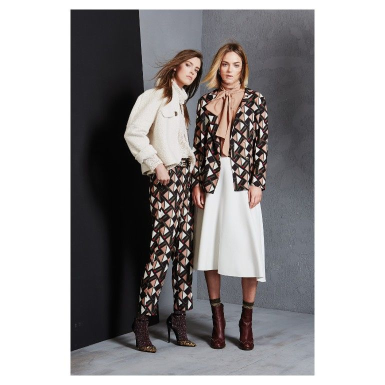Model Eliza Hartmann For Olivia Hops By Cristina Gavioli, Fall Winter  2017/18 Lookbook