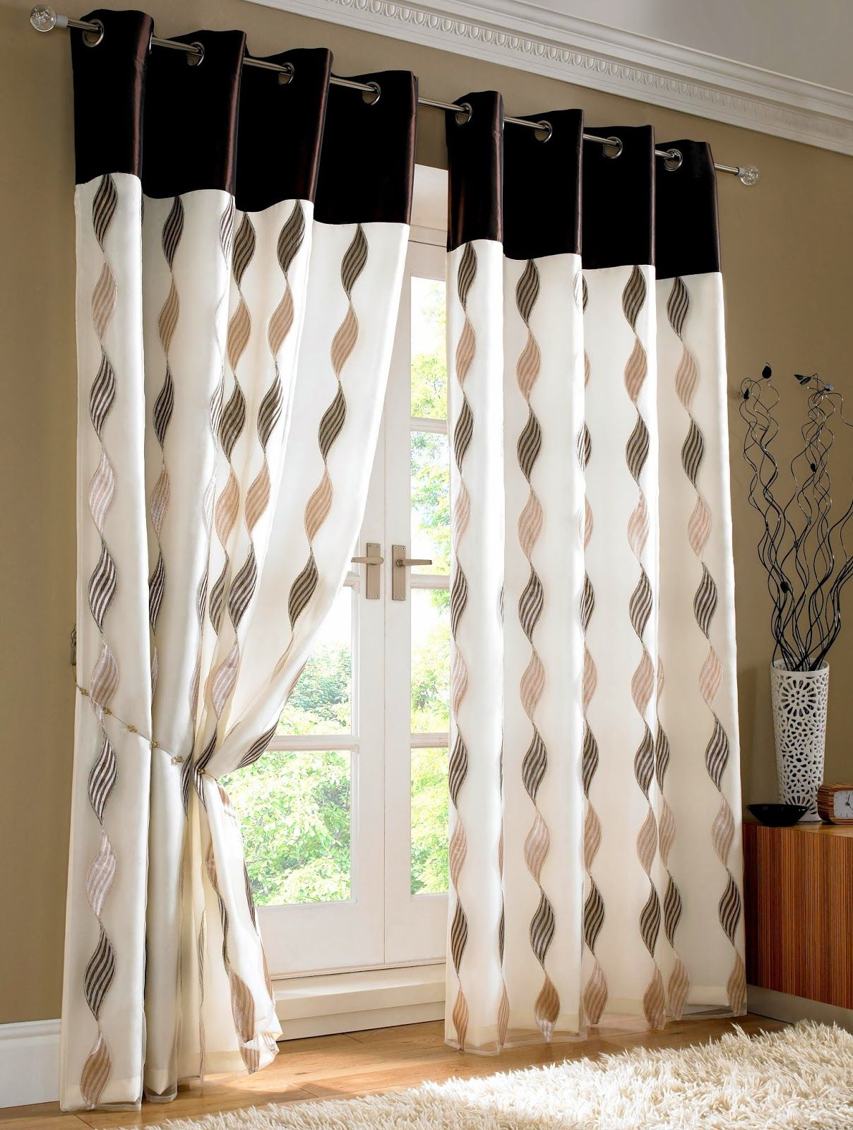 10 Classy Contemporary Curtain Designs Dining Room Curtains