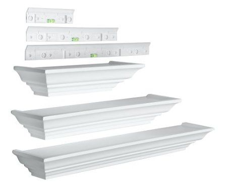 amazon com burnes of boston ll2933 level line white 3 piece ledge rh pinterest com