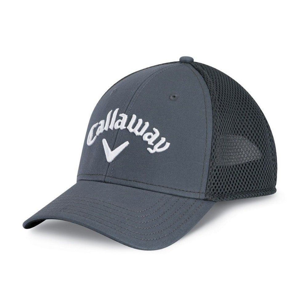 99c24db9c Callaway Golf Mesh Adjustable Hat - Charcoal Heather, Adult Unisex ...