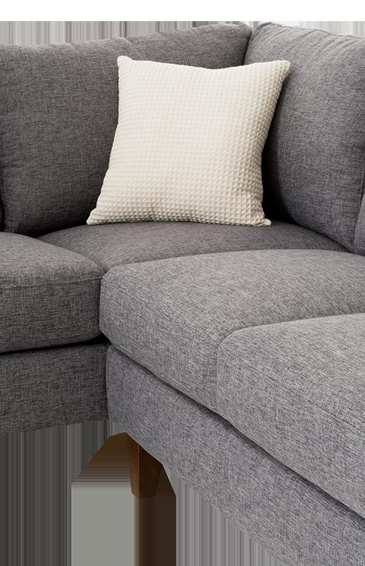 Image Pour Divan Sectionnel En Tissu Gris Avec Coussins Decoratifs A Partir De Brault Martineau Sectional Couch Couch Furniture