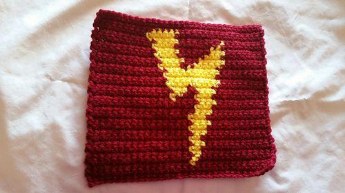 Harry Potter Lightning Bolt block - free crochet pattern by Jennifer ...