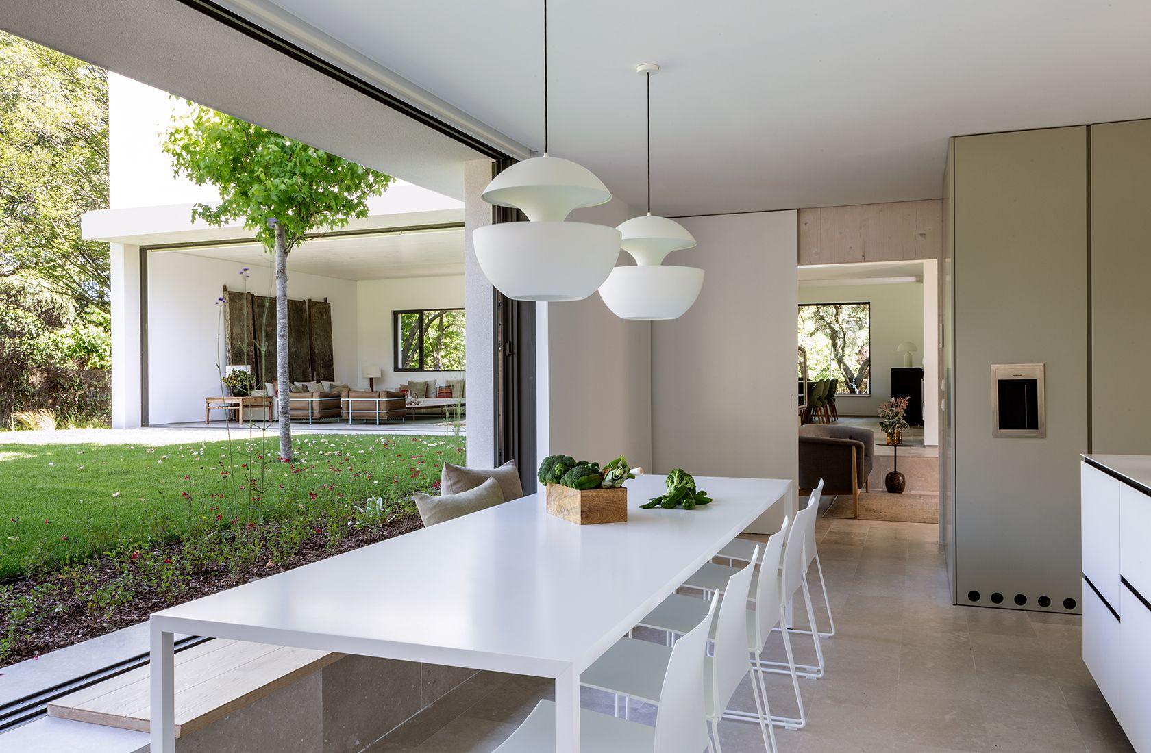 Cocina Vista Diseno Casas Pequenas La Vivienda Proyectos