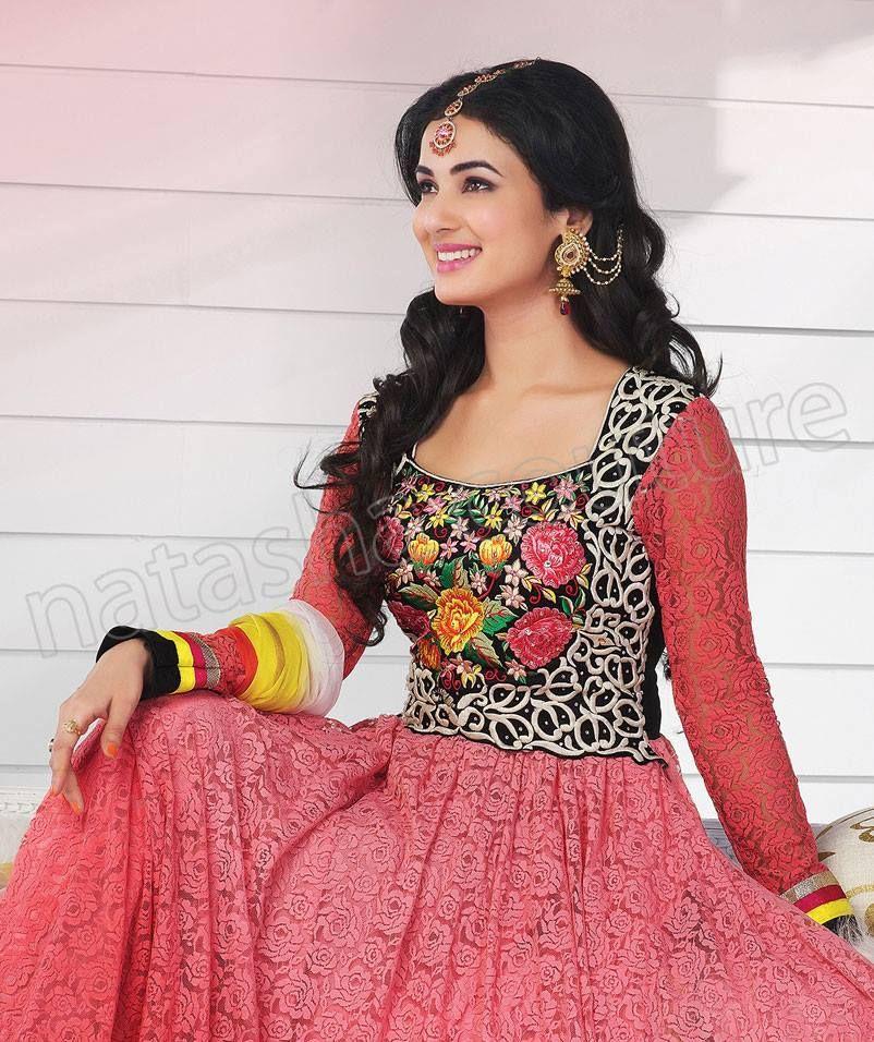 9ab8489fc Sonal Chauhan Fashion Stitched Anarkalis