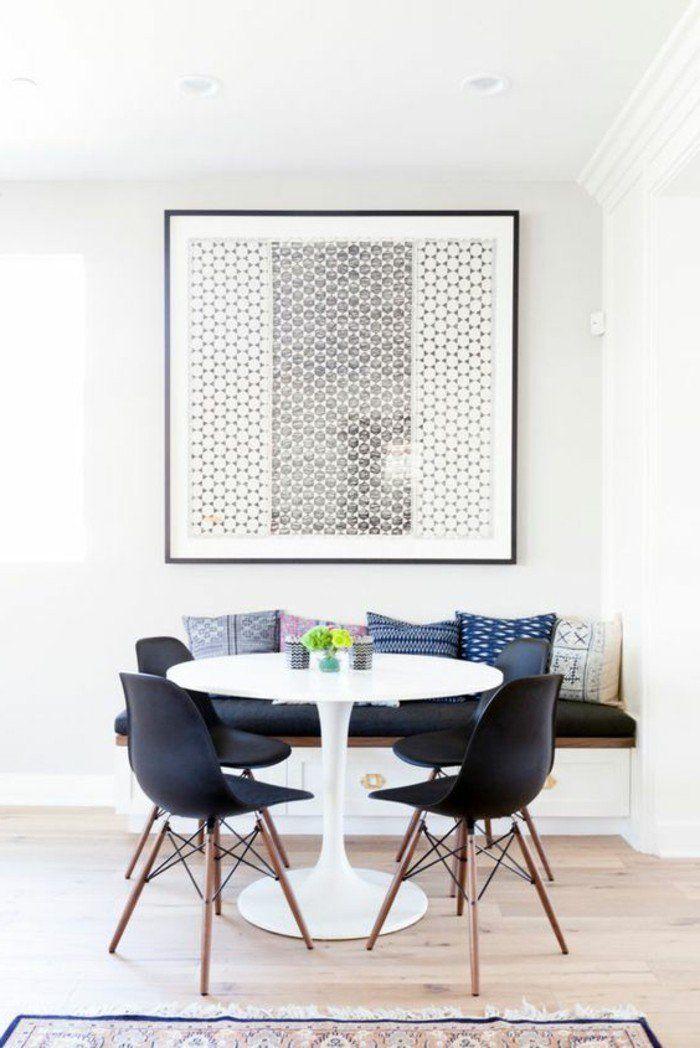 La Plus Originale Table De Cuisine Ronde En 56 Photos Banquette