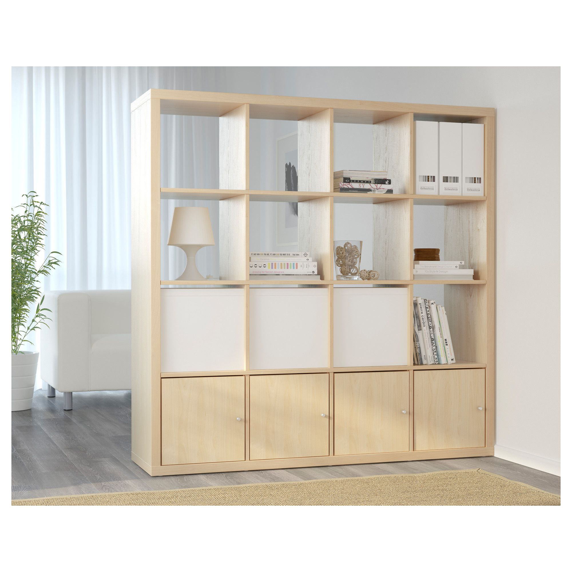 ikea - kallax shelf unit birch effect | home in 2018 | pinterest
