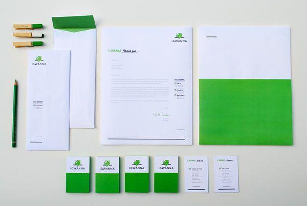 20 Inspiring Letterhead Designs | Letterhead design, Stationary ...
