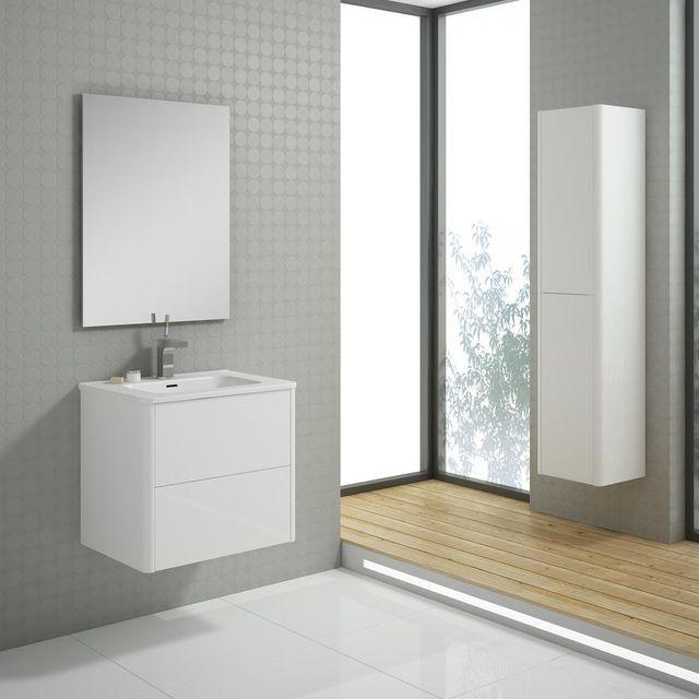 Szafka Pod Umywalke Sottile 59 4 Cm Sottile Lighted Bathroom Mirror Bathroom Mirror Framed Bathroom Mirror