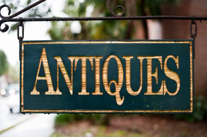 Image result for antiques sign