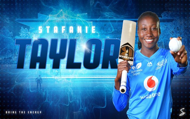 Stafanie Taylor Joins Adelaide Strikers For Wbbl 6 The 29 Year Old Has Been Involved In