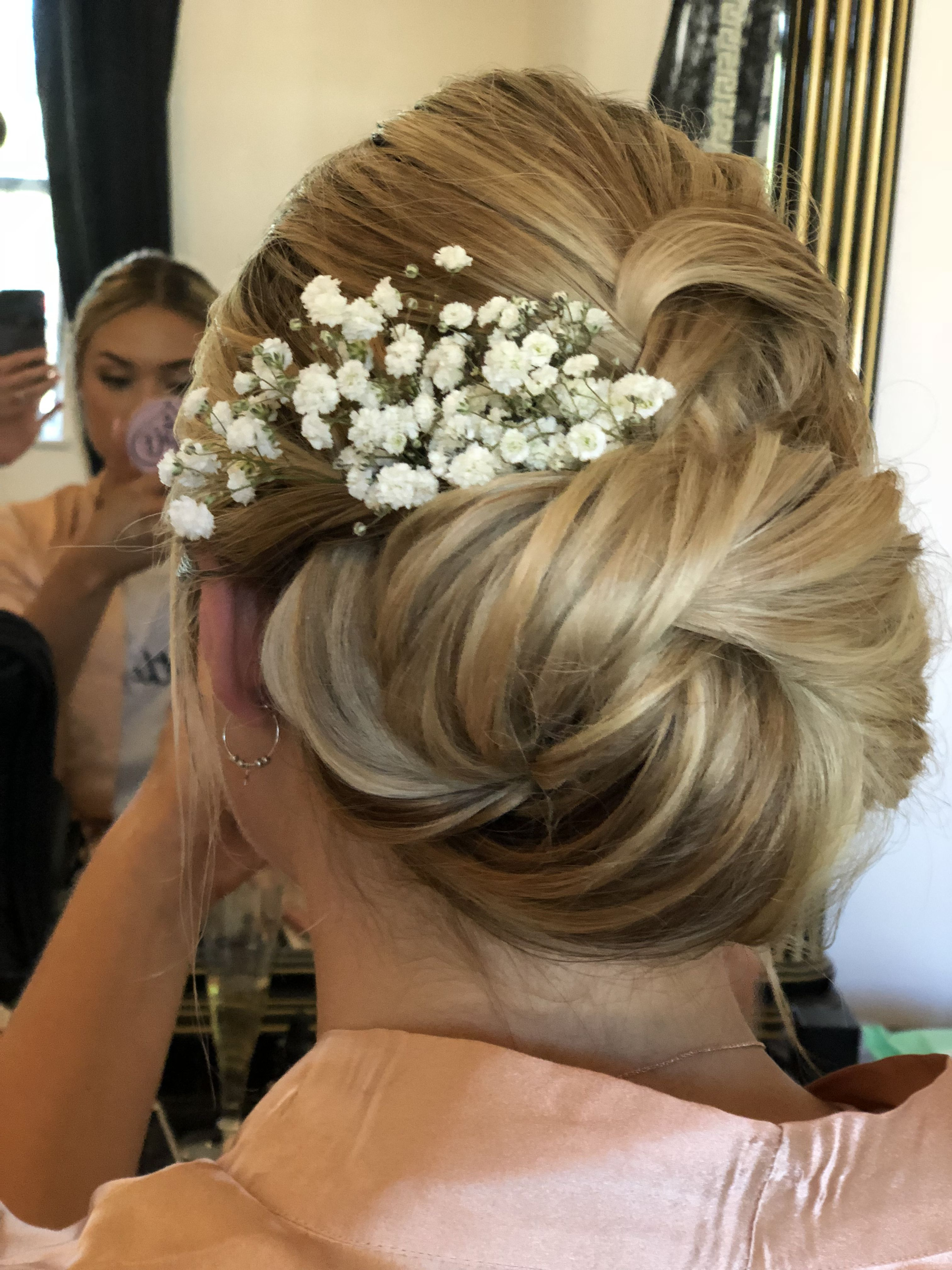 bridal hair by michelle crosser instagram page