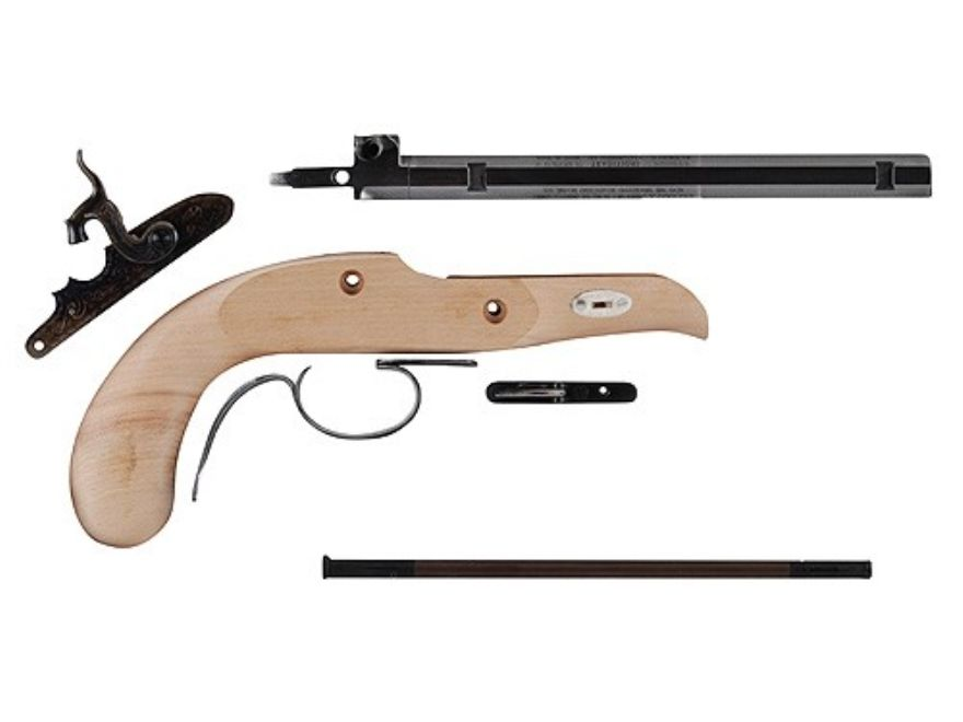 Traditions Pioneer Black Powder Pistol Unassembled Kit 45 Caliber