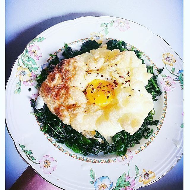 How To Make Cloud Eggs, Instagram's New Breakfast Darling #cloudeggs Cloud eggs are the latest breakfast craze on Instagram, and they're a whole new take on your morning eggs.  Part meringueand part baked eggs, cloud eggs are meant to look like a sun shining through a fluffy white cloud.  Cloud eggs take longer to make than your go-to scrambled eggs, and they require #cloudeggs How To Make Cloud Eggs, Instagram's New Breakfast Darling #cloudeggs Cloud eggs are the latest breakfast craze on I #cloudeggs