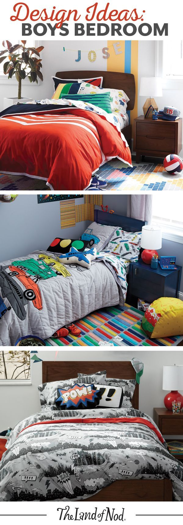 Searching For Boys Bedroom Ideas? The Land Of Nod Has Tons