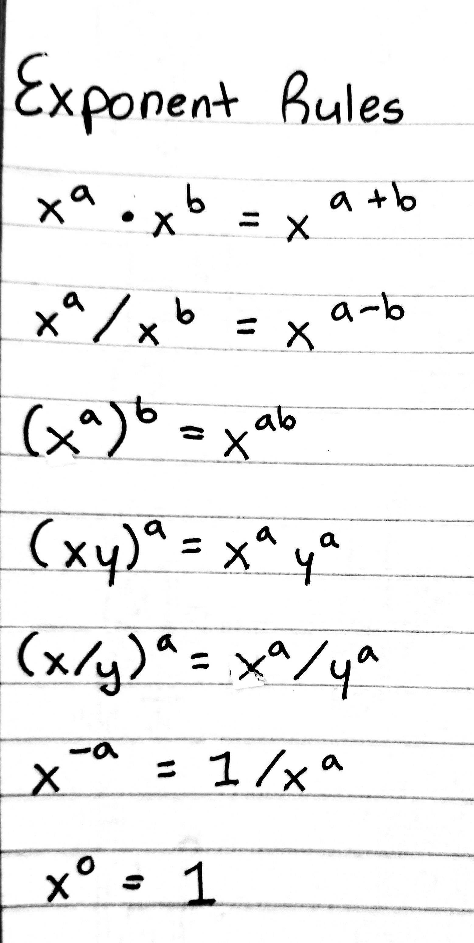 Basic Exponent Rules Worksheet Printable Worksheets Are A Precious Classroom Tool They Not Basically Complement In 2021 Exponent Rules Exponents Exponent Rule Notes [ 3101 x 1558 Pixel ]