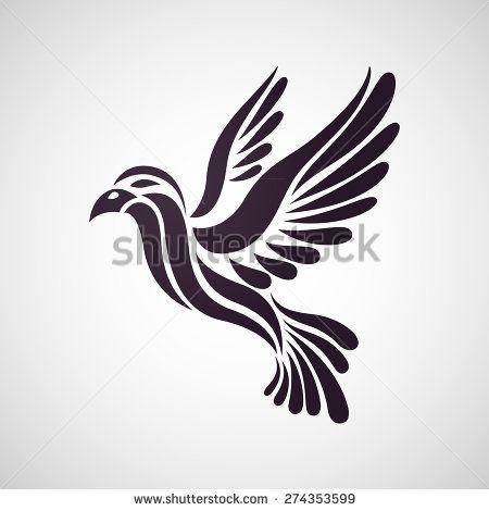 bird tattoo logo vector illustration clipart kreativ vektorgrafik in photoshop erstellen bär