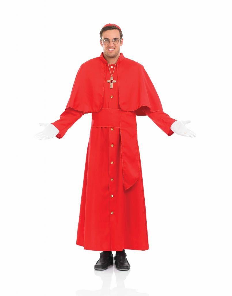 CARDINAL Pope Fancy Dress Costume  sc 1 st  Pinterest & CARDINAL Pope Fancy Dress Costume | pope costume | Pinterest | Fancy ...