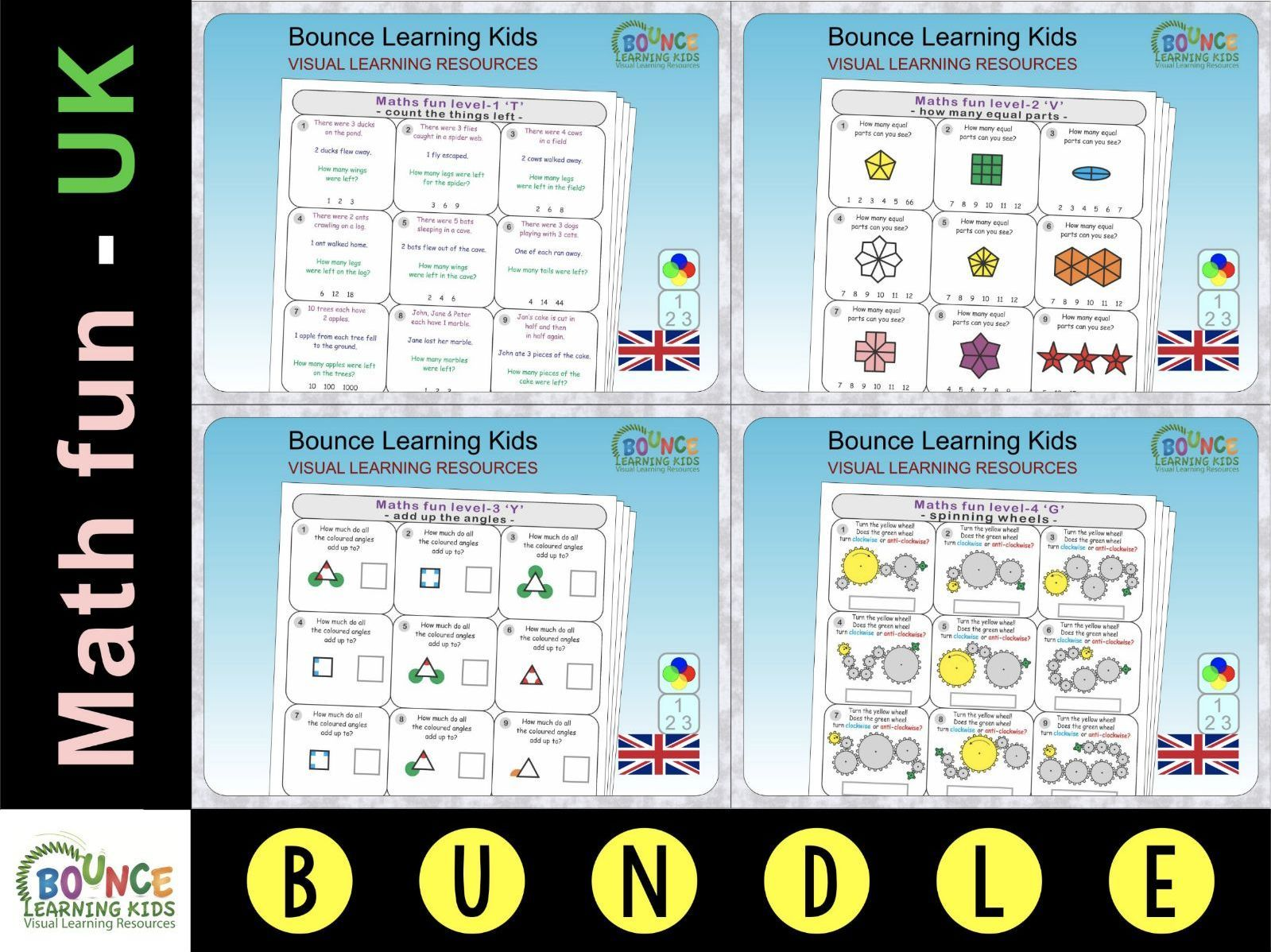 This Bundle Of Math Resources Is A Fantastic Value A Wide