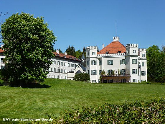 Possenhofen Zamok V Bavorsku Kde Vyrastala Cisarovna Alzbeta Schloss Starnberger See Burg