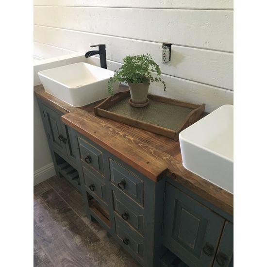 Robertson reclaimed bathroom vanity salle d 39 eau - Robertson reclaimed bathroom vanity ...