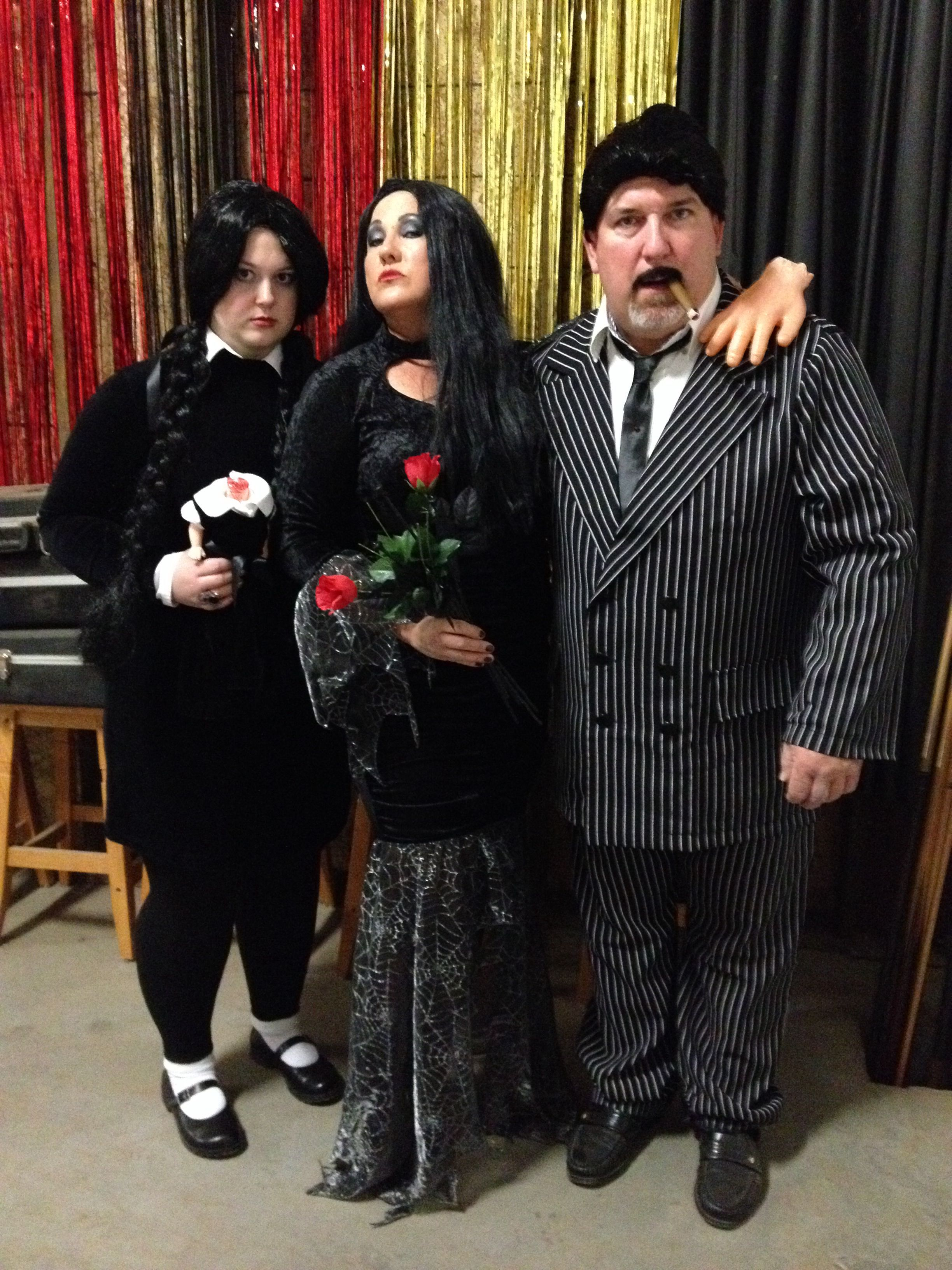 the addam's family halloween costumes! wednesday addams, morticia