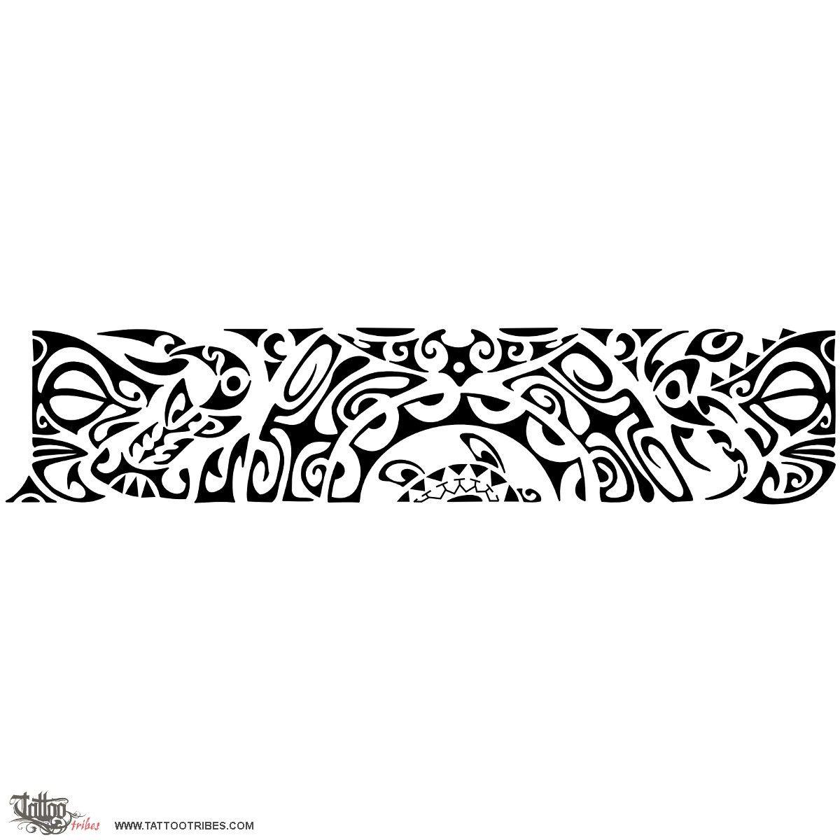 Super Tatuaggio di Mahurutanga, Serenità tattoo - TattooTribes.com  WH71
