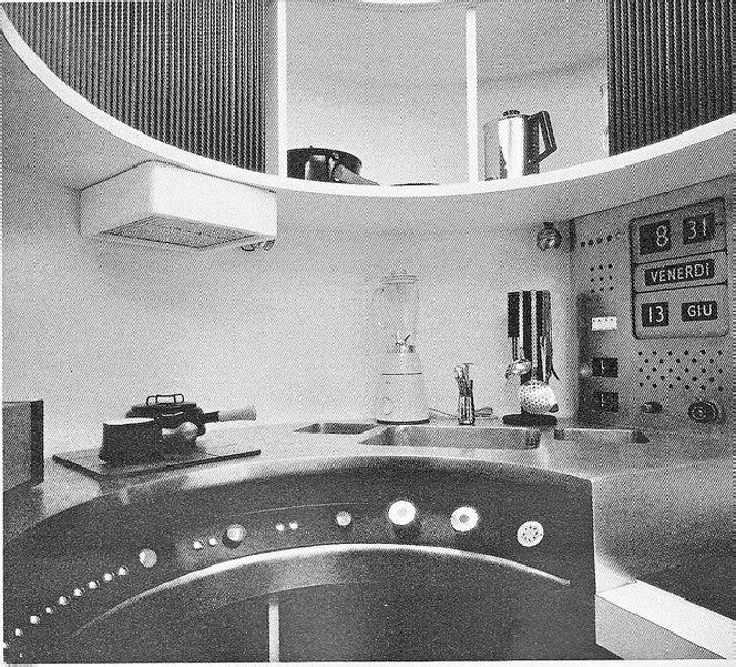 Explore Retro Interior Design Mini Kitchen And More