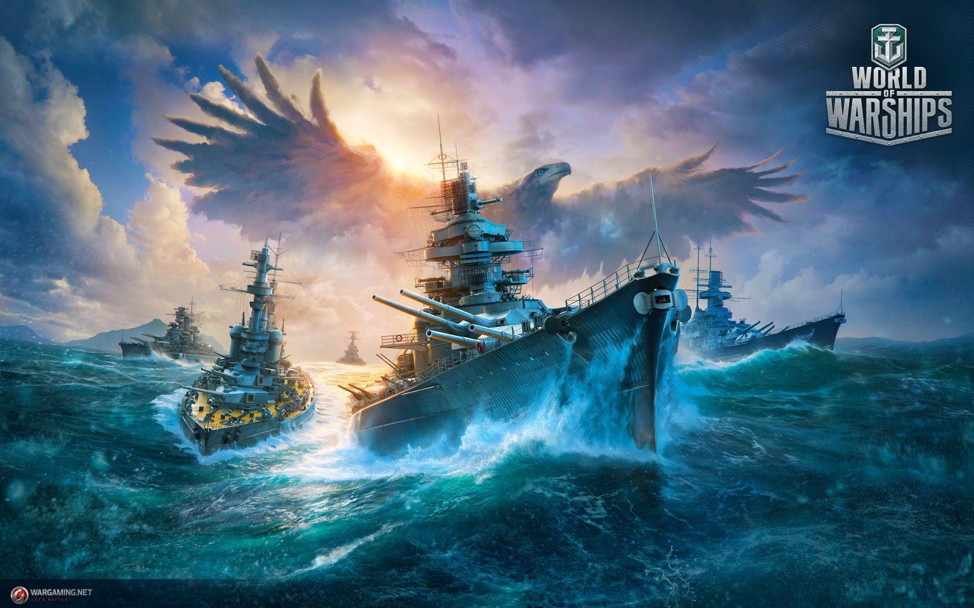 1920x1200 World Of Warships Desktop Wallpaper High Resolution Free Download World Of Warships Wallpaper Warship Warship Games