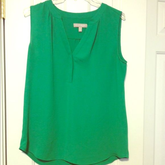 5a06989fc8618e Find some luck of the Irish in this green blouse! This Banana Republic  green blouse