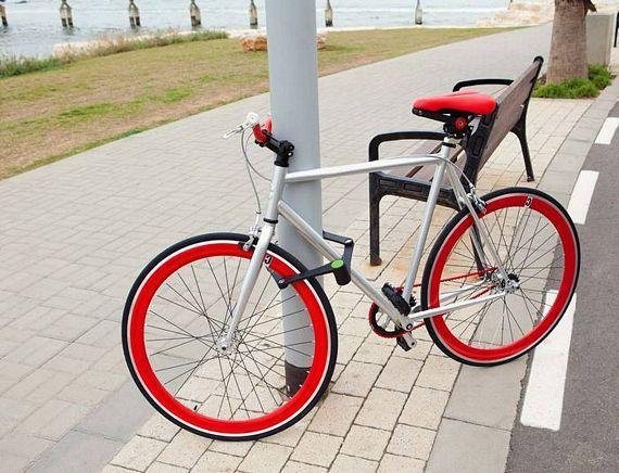 Foldylock Folding Bike Lock Is A Smart And Practical Design Bike