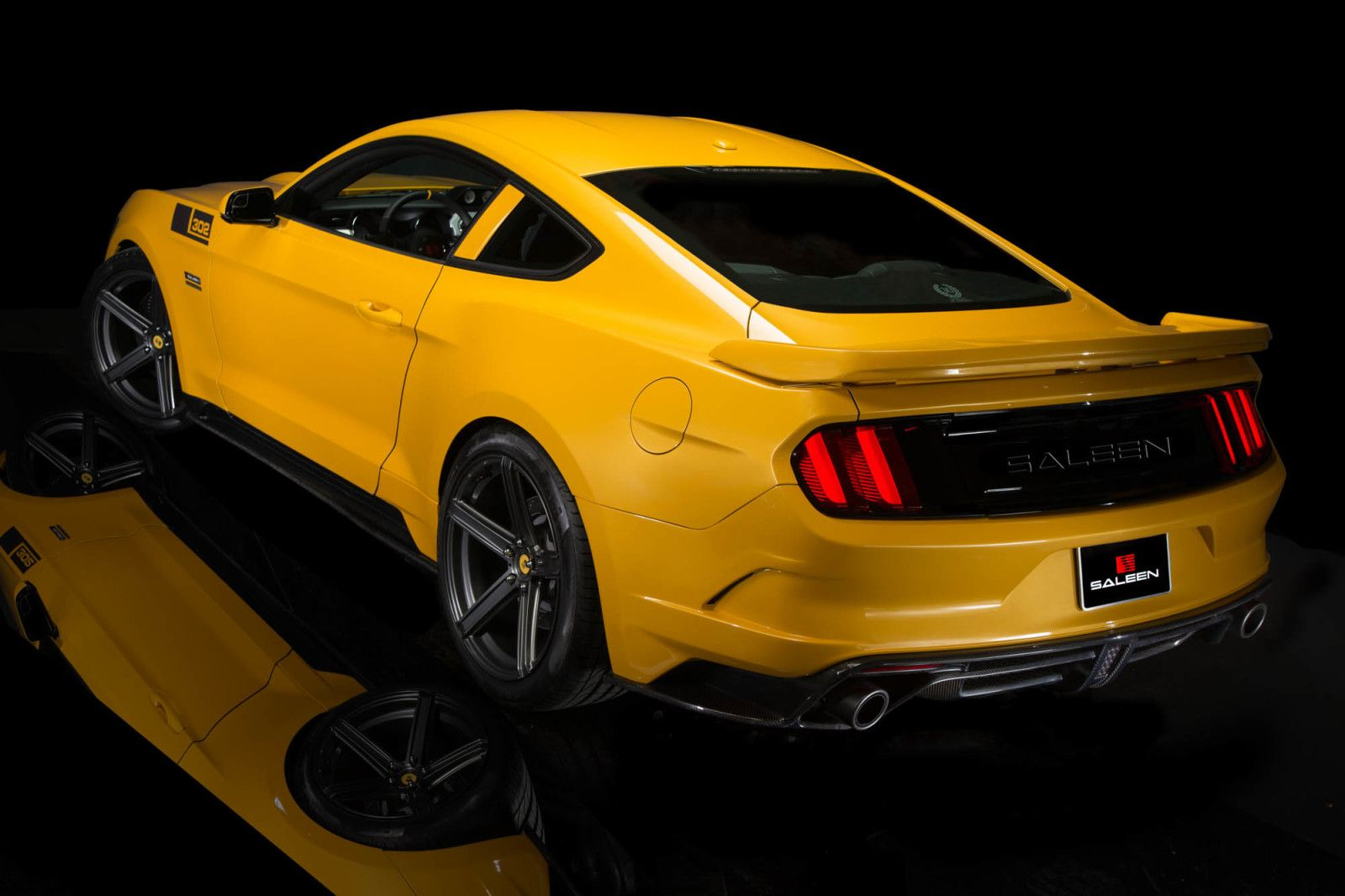 Saleen 302 Black Label Mustang Makes 730 Hp Costs 73k Saleen Mustang Ford Mustang Mustang