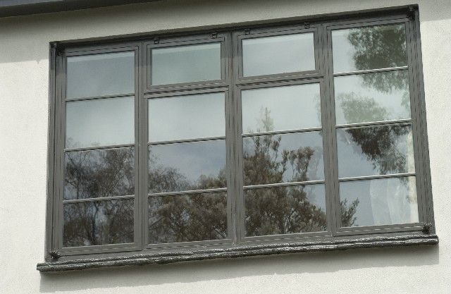 Crittall windows in a house in Chiselhurst