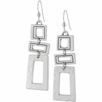 """Brighton """"Piazza"""" French Wire Earrings ~~~~ Yes, want the chain belt too!!"""
