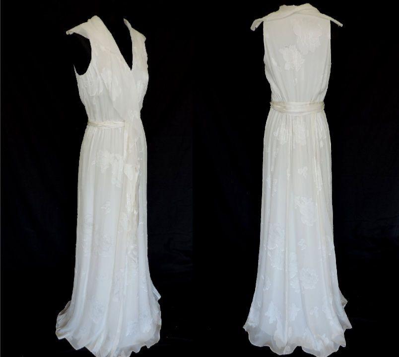 MONSOON CREAM DRESS rrp £195 BRIDAL WEDDING PROM CRUISE SPECIAL OCCASION 12 BNWT visit Bobolulu on ebay uk