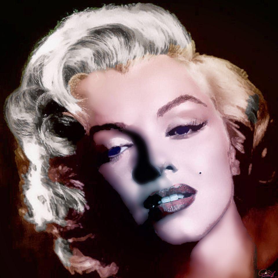 Marilynn Monroe Org.Size 20x20 Marilyn monroe facts