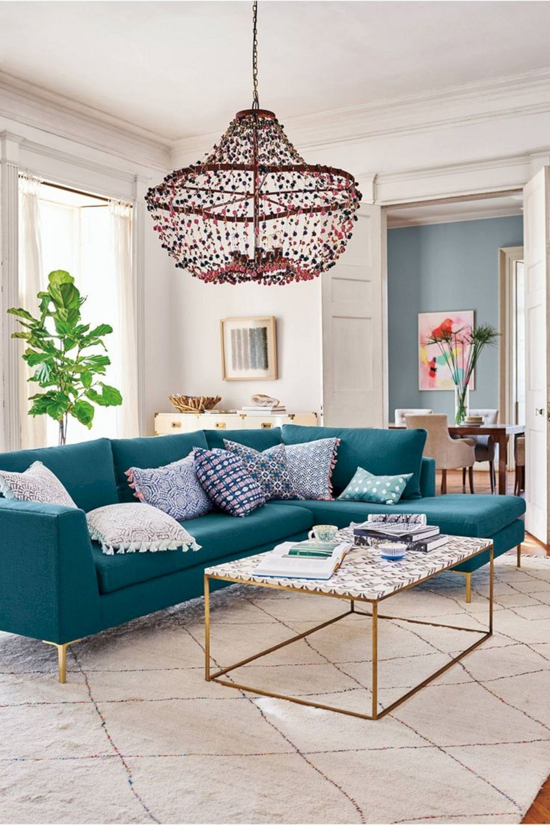 Update The Living Room With Awesome Peacock Color Ideas Livingroom Livingroomdesign Peaco Teal Sofa Living Room Teal Living Rooms Living Room Turquoise