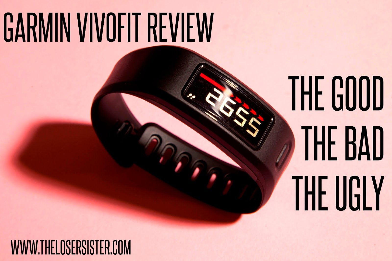 theLOSERsister: My Garmin Vivo-fit review