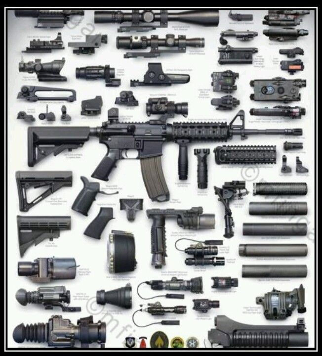 Image result for M4a1 scopes  mounts rails""