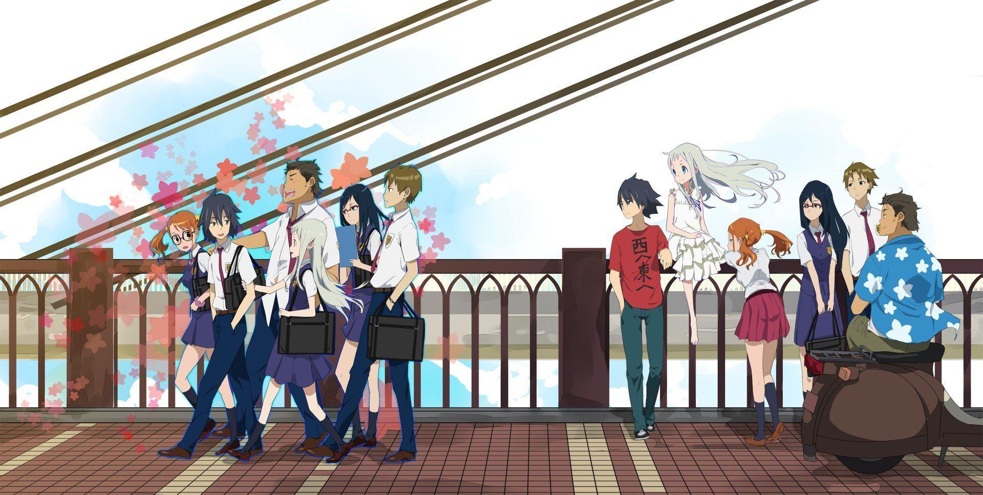 Anime Anohana Papel de Parede anime anohana papel