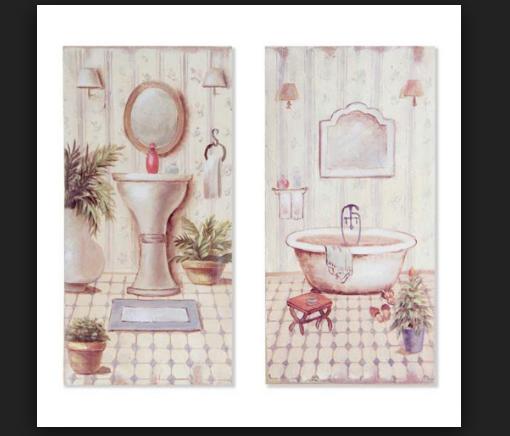 Cuadros para decorar ba os cl sicos decoraci n del hogar for Laminas de cuadros modernos