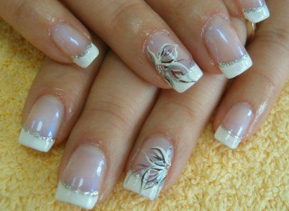 Simple french manicure nail designs nails pinterest manicure simple french manicure nail designs prinsesfo Images
