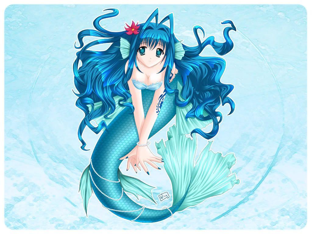 Anime Meerjungfrau