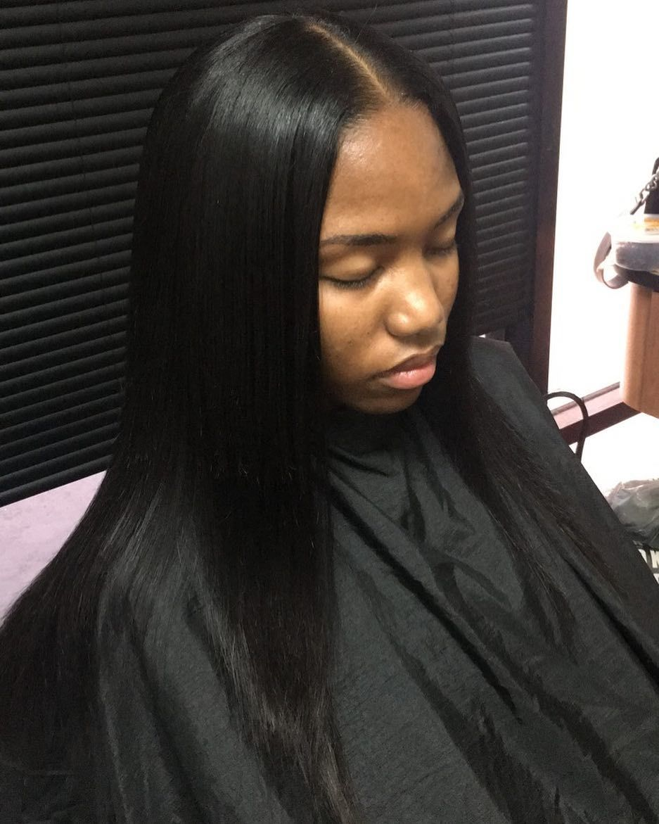 Pin By Olexus Porter Aka Ms Pooh Fanc On Women S Fashion Sew In Straight Hair Quick Weave Hairstyles Sew In Hairstyles