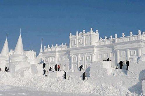 Ice Architecture, China's annual ice festival.