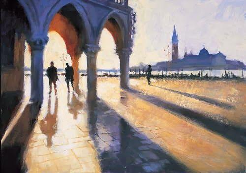 Hazel Soan, 1954   British Watercolor painter
