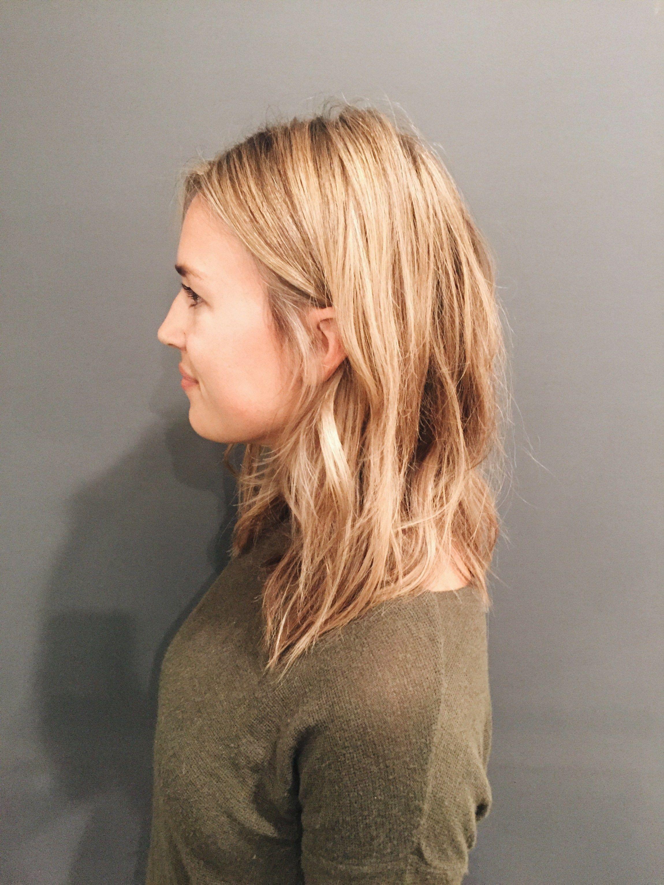 The New Long My Fall Haircut Natalie Borton Blog Hair