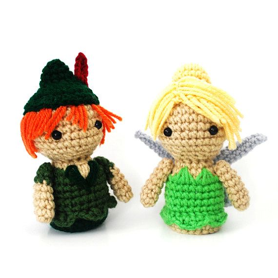 Peter pan and tinkerbell crochet pinterest personajes de peter pan and tinkerbell dt1010fo