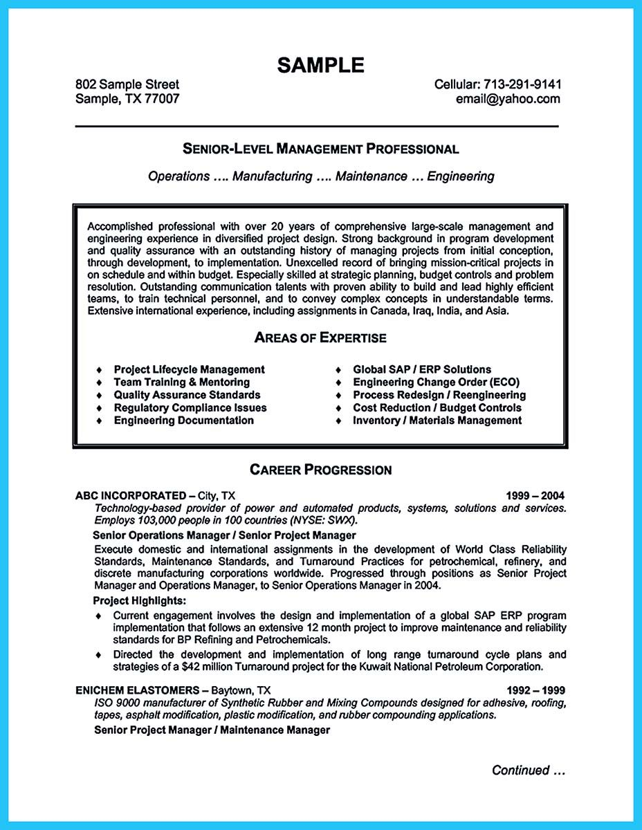 Cool The Most Excellent Business Management Resume Ever, Check More At  Http://. Sample Resume TemplatesProfessional ...