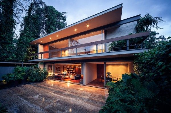 Homedesigning via casa sierra leona a mexico city tribute to modernism